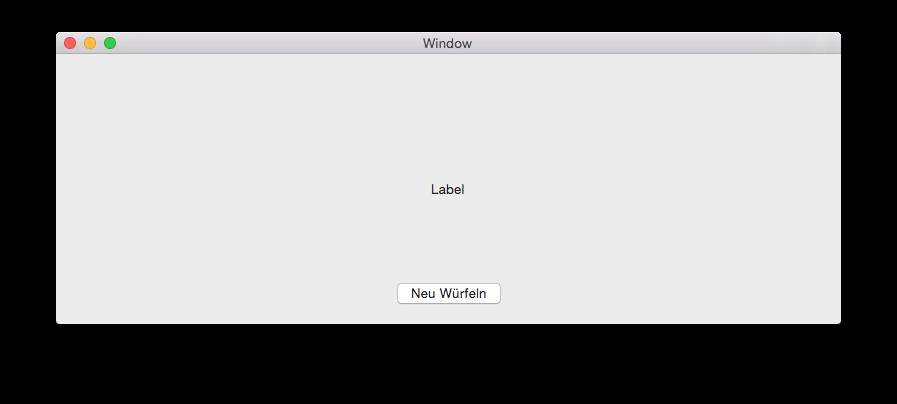 Abbildung 5.7: Die GUI ist fertig